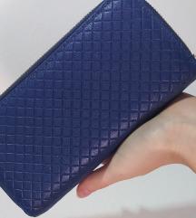 Plavi novi novčanik