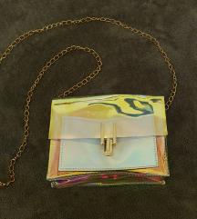 Zara hologram torbica