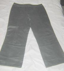 hlače crne prava koža