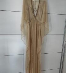 Duga haljina sa postavom