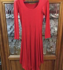 Maxi crvena haljina