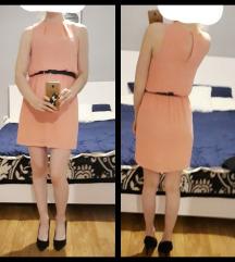 Nježno roza haljina
