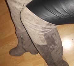 Cizme iznad koljena sa pt