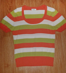 Kratka majica na prugice