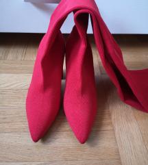 Zara elastične crvene čizme