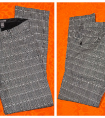H&M - nove karirane hlače - 40 / 42