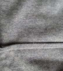 Siva zimska vintage pencil suknja