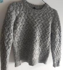Benetton pleteni džemper