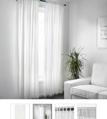 Dvije zavjese Ikea