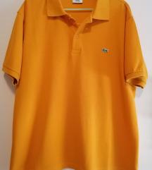 Original Lacoste polo majica unisex boja senfa XL