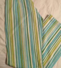 Zelene lanene hlače