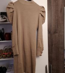 Haljina sa puf rukavima