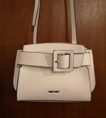 Nine West bijela torbica