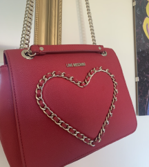 Moschino red NEW bag