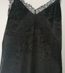 Zara velvet haljina