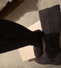 Hogl čizme kožne sive 37,5