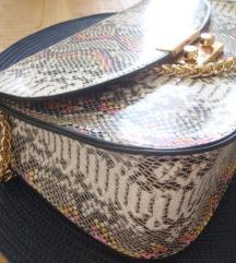 Torba s uzorkom zmijske kože