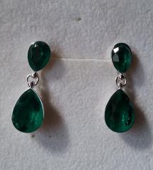 SWAROVSKI EmeraldIgn STERLING SREBRO