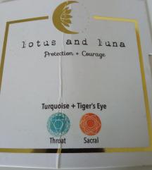 Nova narukvica tirkiz i tigrovo oko