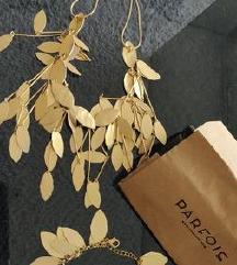 Parfois Gold ogrlica i narukvica L