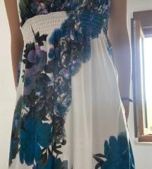 Lepršava haljina na cvijeće