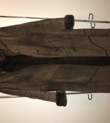 Zimska bunda- prava koža i krzno
