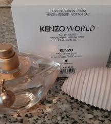 😻NOVO😻 Orig tester Kenzo World 75ml