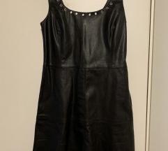 Nova vero moda kožna haljina skaj