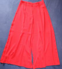 Nove Zara crvene hlače - %