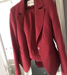 REISS tamnocrveno odijelo
