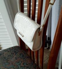 Bijela tal. kožna-kroko torbica