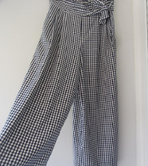 70 kn Zara gingham culottes hlače