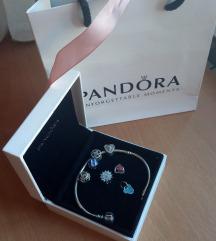 SAD 550!!!!Pandora narukvica 925+Charms Original