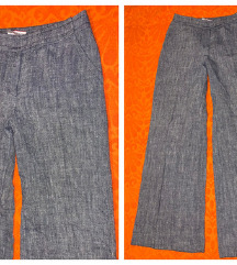 Max & co. - flared linen pants - 38