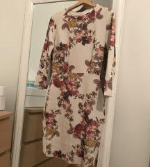 Zara uska cvjetna haljina