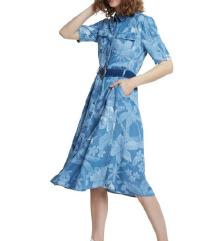 Nova Desigual Kate blue denim haljina- s etiketom