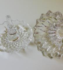 Vintage kristalni ring holder