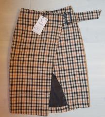 Nova karirana suknja Bershka 34