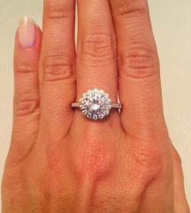 NOVI Srebrni prsten 925