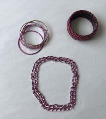 LOT: narukvice i ogrlica