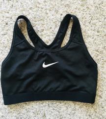 Nike drifit crni sportski grudnjak vel S