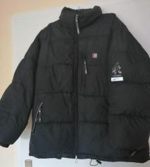 Crna topla jakna