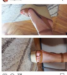 ASOS cipele puna peta