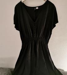 H&M Divided crna haljina