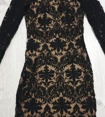 H&M crna haljina xs