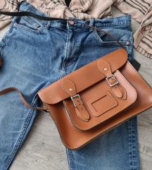 Leather Satchel kožna torba