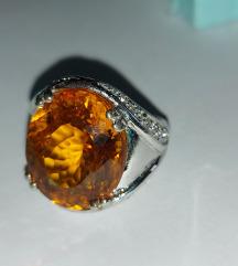 Prsten srebrni 925.novo