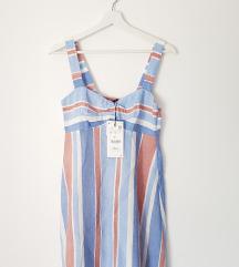 Zara haljina na pruge, velicina S