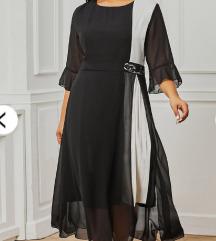 Elegantna haljina od šifona