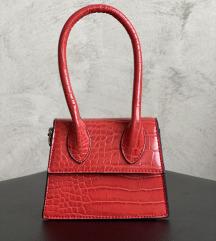 Micro crvena torbica